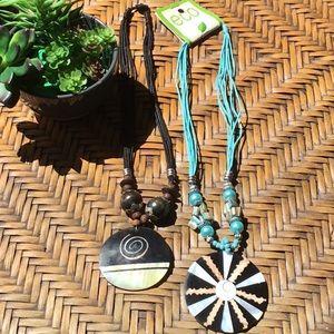 2 Handmade necklaces